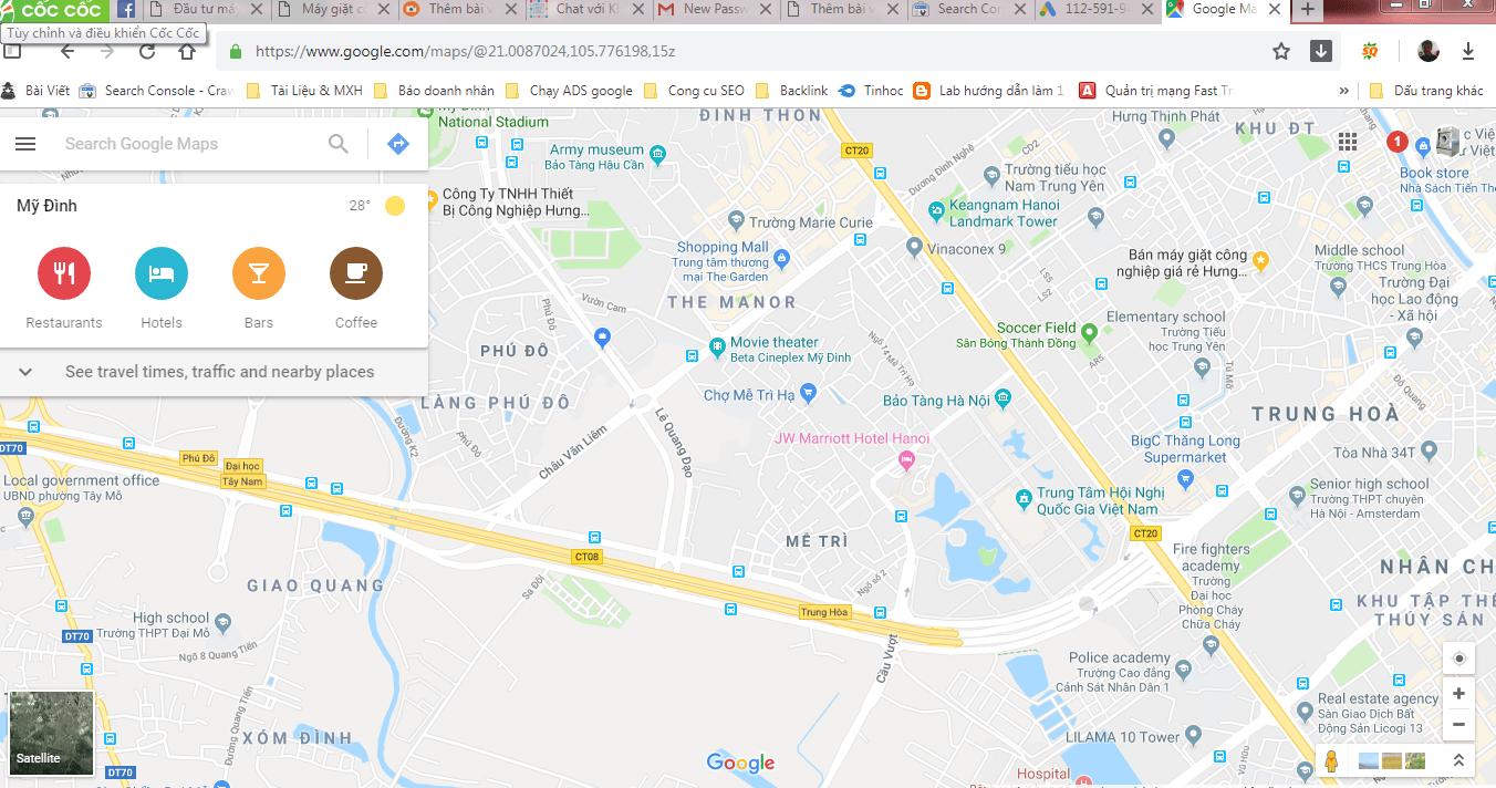 ban do map - Cách đánh dấu địa điểm trên Google maps chuẩn chỉ trong 3 thao tác