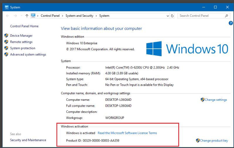 windows 10 - Cách kiểm tra Windows, Office đã Crack - Active hay chưa!