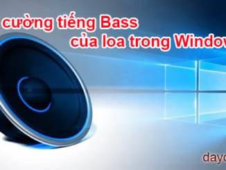 tăng cường tiếng Bass của loa trong Windows 10 326x245 - Hướng dẫn cách tăng cường tiếng Bass của loa trong Windows 10 , 7