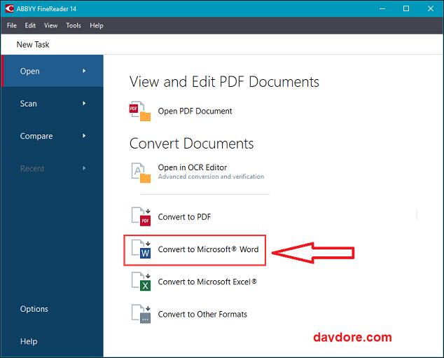1 - Top 5 phần mềm chuyển PDF sang Word không lỗi Font đảm bảo 100%