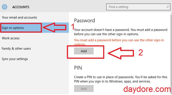 Cách cài đặt mật khẩu cho máy tính Win10 - Cách cài mật khẩu máy tính dùng Windows 7, 8, 10 chỉ trong 3 bước