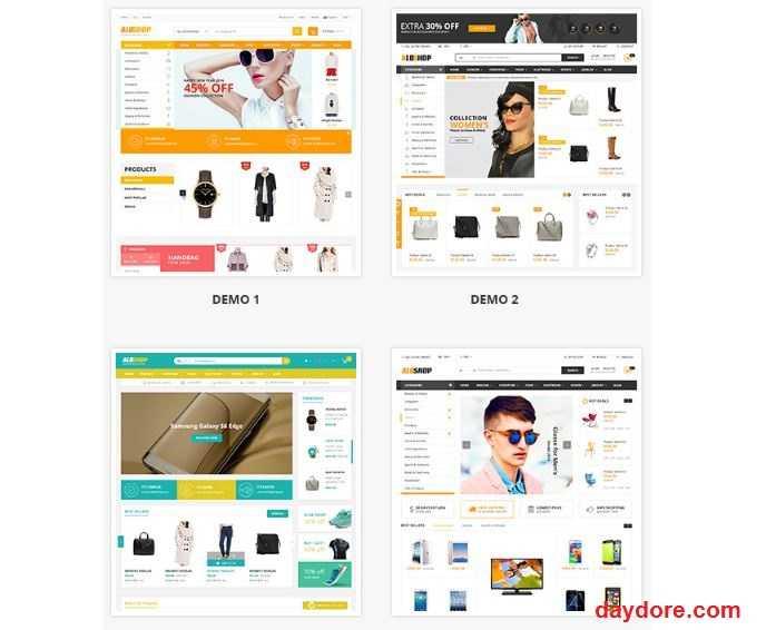 Alo Shop - 10 Theme Wordpress bán hàng miễn phí & có phí chuẩn SEO nên dùng