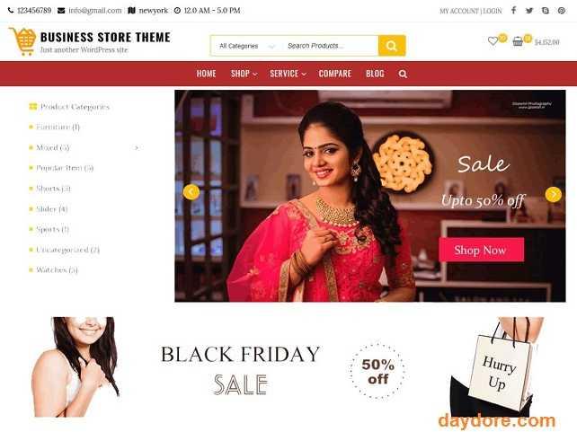 Business Store - 10 Theme Wordpress bán hàng miễn phí & có phí chuẩn SEO nên dùng