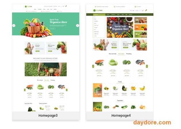 Organica Organic Beauty Natural Cosmetics Food Farn and Eco - 10 Theme Wordpress bán hàng miễn phí & có phí chuẩn SEO nên dùng