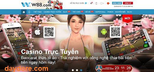W88 - Casino trực tuyến W88- Nhà cái số 1 Việt Nam
