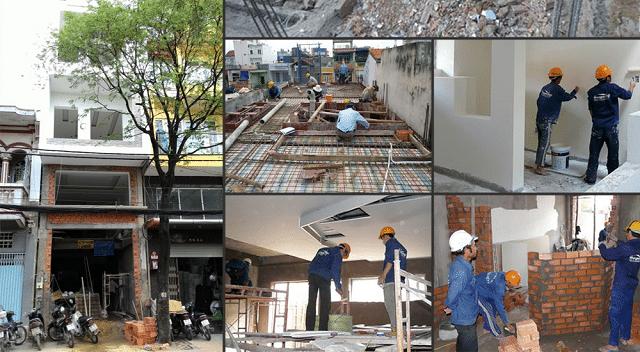 Cần chọn đơn vị chuyên nghiệp chuyên nâng cấp, cải tạo sửa chữa nhà thực hiện dịch vụ