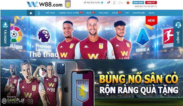 Cá độ bóng đá tại W88