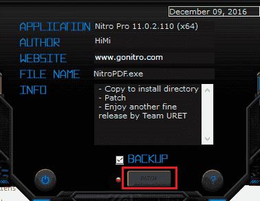 Hướng dẫn cài đặt Nitro Pro 12 full crack
