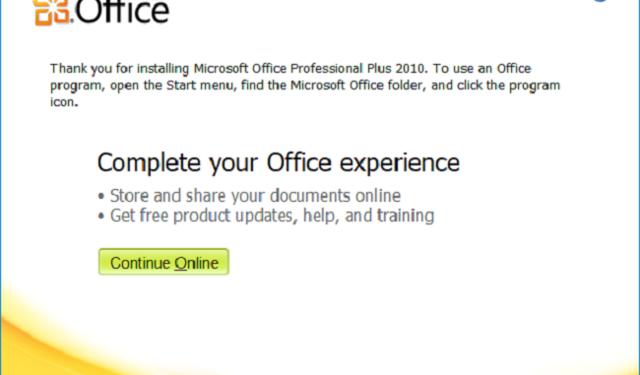 Hướng dẫn crack Microsoft Office 2010
