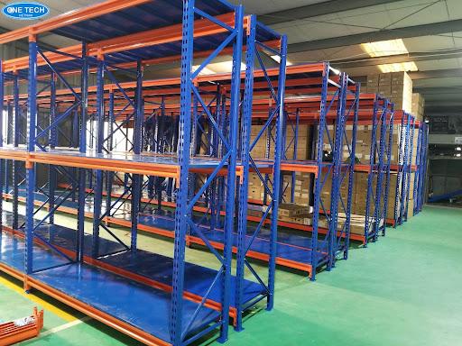 Kệ trung tải - Mẫu kệ sắt công nghiệp tải trọng trung bình